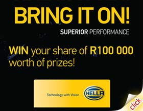 Win your share of R100 000 worth of prizes