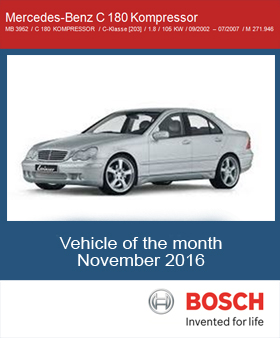 Vehicle of the month