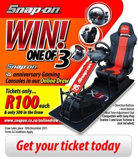 Snap-on Gaming Console Online Draw