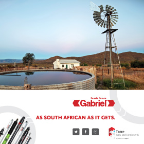 Gabriel - As South African as it get's!