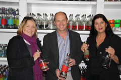 From left:  RAGE Director, Laura Clancy, Consol Marketing Director, Dale Carolin, and RAGE Administrator, Ingrid Falck.
