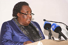 The renewal of agreements by the minister of labour Nelisiwe Mildred Olifant
