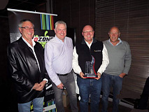 (left to right) Roland Bosse, Merchandise & Inventory Optimisation Executive, AutoZone; Wayne Grews, CEO, Autozone; Ian Law, Group Sales and Marketing Director, G.U.D. Holdings (Pty) Ltd and Red Shuttleworth, CEO, G.U.D. Holdings (Pty) Ltd