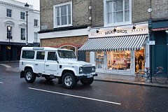 Land Rover Defender takes over London