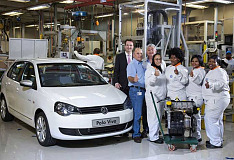 Volkswagen's Engine Plant achieves another production milestone