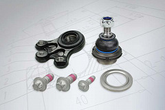 New MEYLE ball joint kits for Peugeot 407/508 and Citroën C5/C6