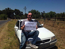 Gavin Wiseman has many happy travels in his trustworthy Opel Kadett