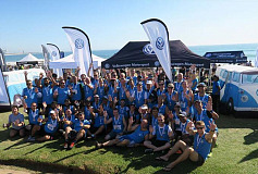 Volkswagen participates in the 2016 Corporate Triathlon Challenge