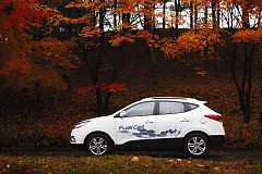 Hyundai ix35 Fuel Cell Vehicle becomes power plant for a home