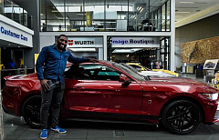 Beast Meets the Legend - Tendai Mtawarira Powered by ROUSH Ford Mustang
