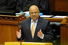 Gordhan resetting the dial?