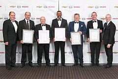 General Motors South Africa Honours Dealers