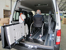 Nissan first to bring wheelchair-friendly taxis to South Africa