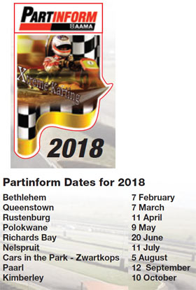 Partinform dates 2018