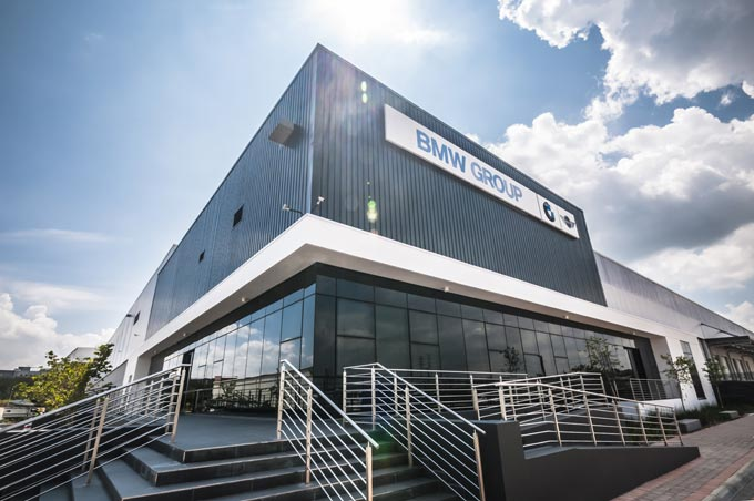 BMW Group opens new Regional Distribution Centre