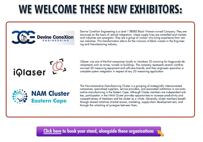 Advanced Manufacturing and Composites Show - Latest Exhibitors