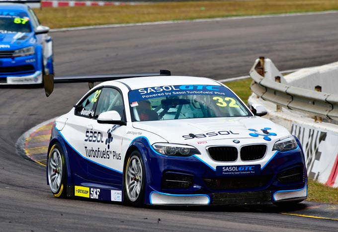 Crunch time for Sasol GTC Racing Team