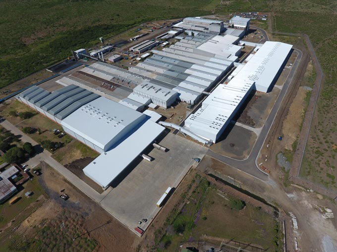 Sumitomo Rubber South Africa's Truck and Bus Radial Tyre Manufacturing Plant officially commences production