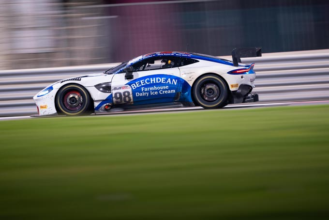 New Aston Martin Vantage GT3 takes first podium in Gulf 12 Hours