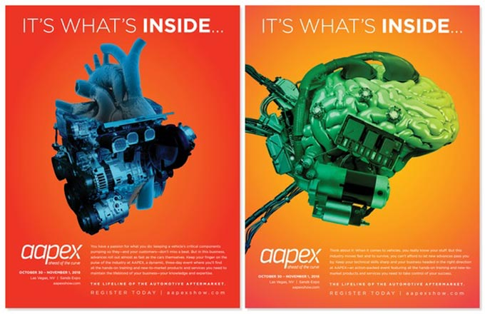 AAPEX 2018 Print Advertising Campaign Wins Prestigious Award