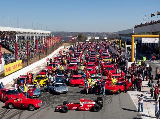 Ferrari owners kick off the festive season with the annual Shell V-Power SEFAC Experience Day
