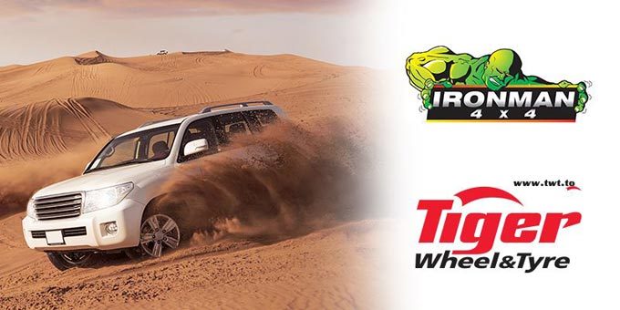 Tiger Wheel & Tyre Lynnwood Unveils Ironman 4x4 Range of Products