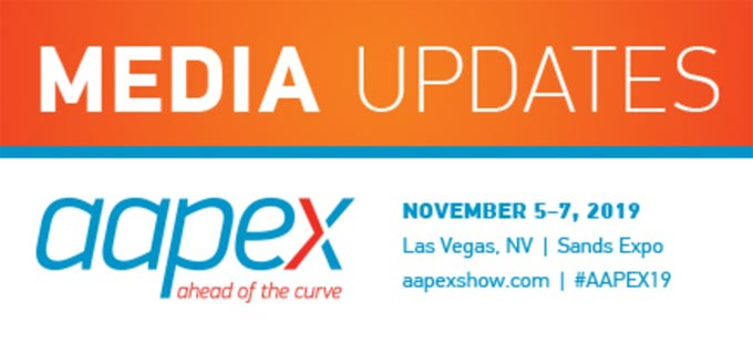 AAPEX Media Updates: Post-show details