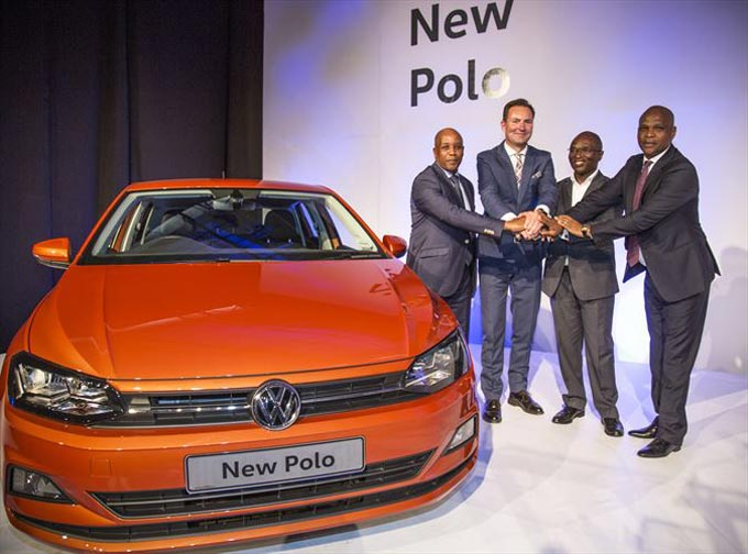 Premier of the Eastern Cape, the Hon. Phumulo Masualle; Chairman and Managing Director of Volkswagen Group South Africa, Mr. Thomas Schaefer; Deputy Minister of Trade and Industry, the Hon. Bulelani Magwanishe; MEC for Finance, the Hon. Sakhumzi Somyo