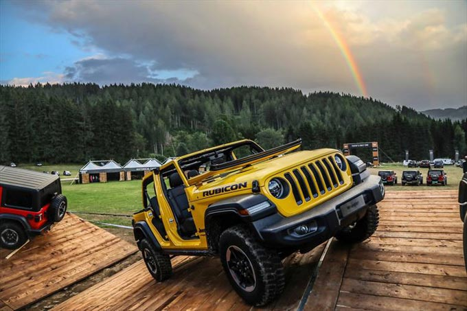 Camp Jeep® 2018 Starring the New Jeep Wrangler Breaks All Records