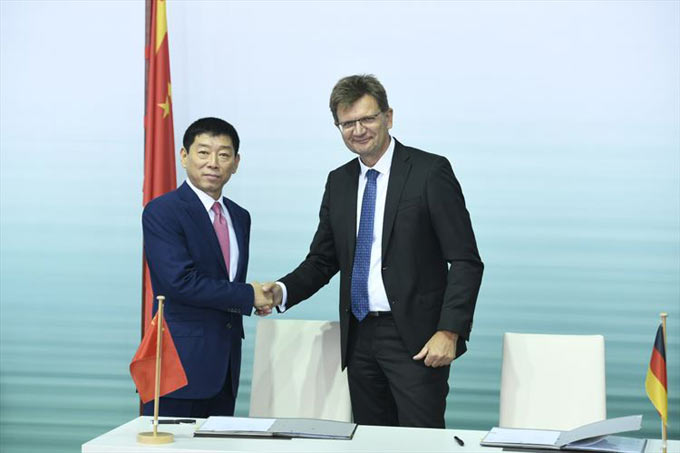 Acceleration of the NEV Strategy - Joint Venture Contract Signed by GWM and BMW