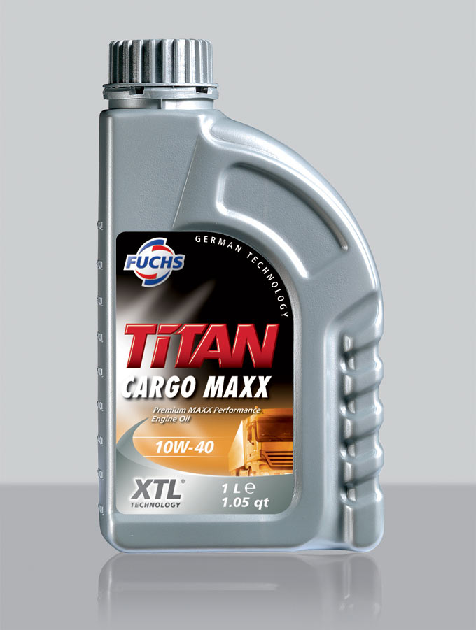 TITAN Cargo MAXX SAE 10W-40 for exhaust systems and turbochargers