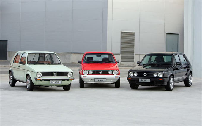 Volkswagen Golf celebrates 40 years in South Africa