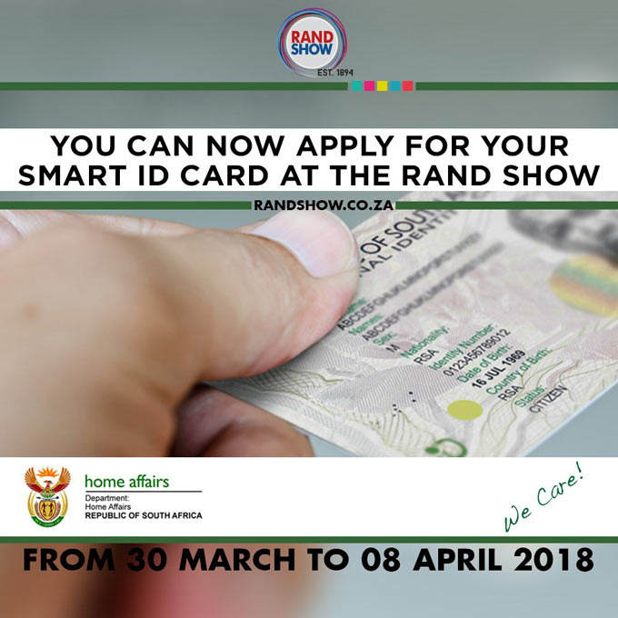 Department of Home Affairs to showcase at the Rand Show