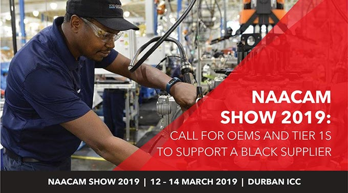 NAACAM Show 2019: Call for OEMs and Tier 1s wanting to support a black supplier