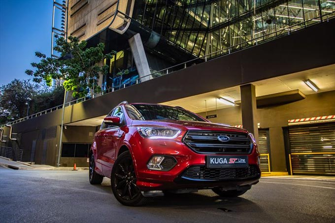 Ford Kuga Gains Sporty ST-Line, Frugal 1.5 TDCi Added