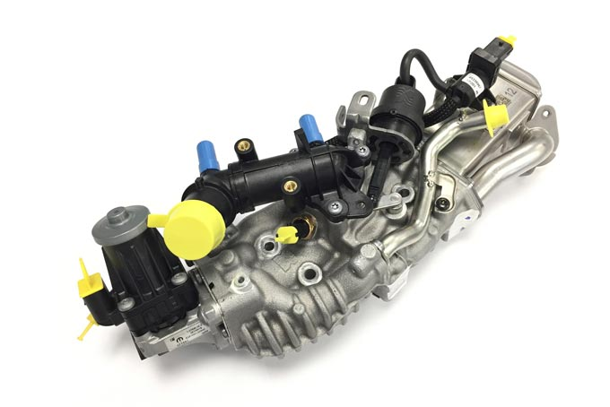 BorgWarner supplies its all-in-one EGR solution to a major global automaker for a variety of different engine sizes