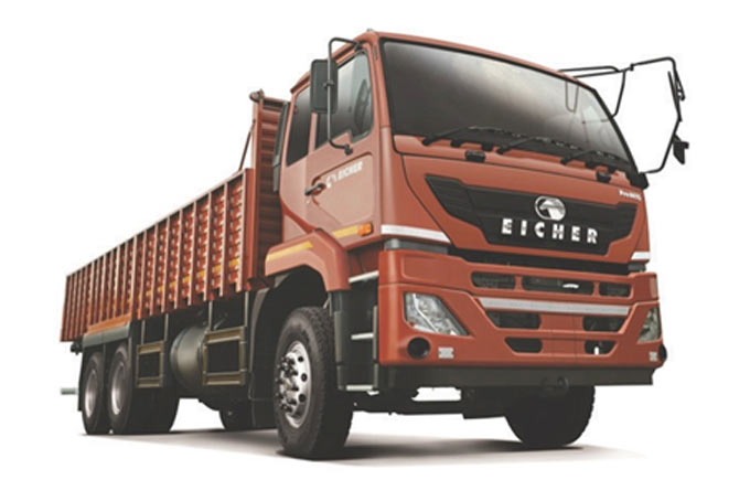 Volvo Eicher has moved up the payload spectrum in South Africa with its Pro 6000 series models