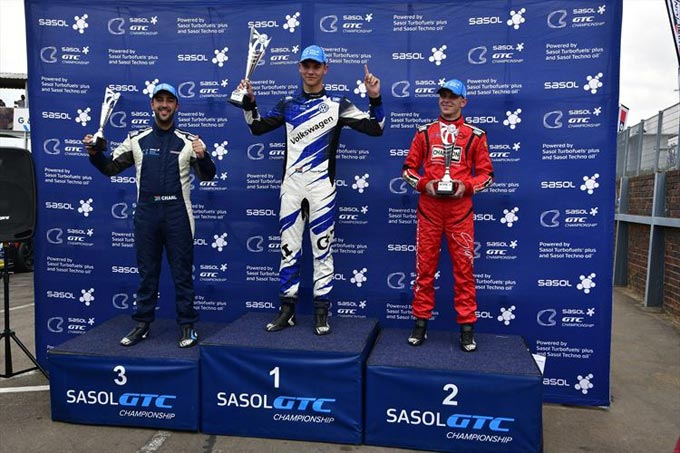 Keagan is the master of the 2018 Sasol GTC2 Championship