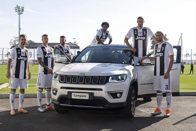 The Jeep® brand celebrates a new record with Juventus