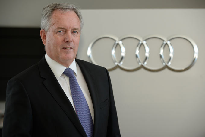 Trevor Hill – Head of Audi South Africa.