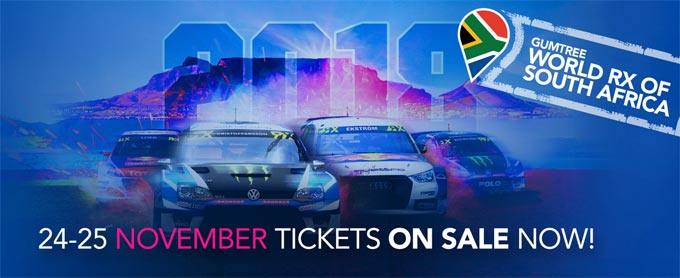 The Top Ten of World Rallycross coming to South Africa in November