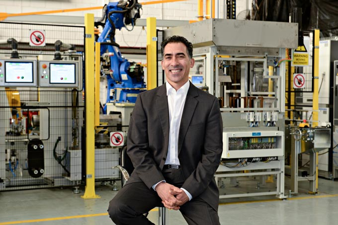 TECH LEADER: Jendamark Automation managing director Quinton Uren has been named a finalist in the Industrialist of the Year category for the All African Business Leaders Awards. He will represent Southern Africa at the overall continental awards ceremony on November 29.