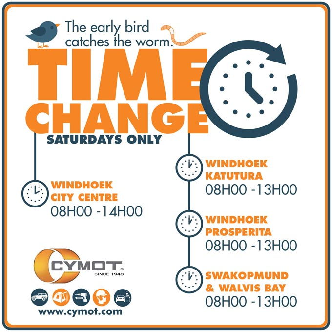 CYMOT SATURDAYS! The early bird gets the worm