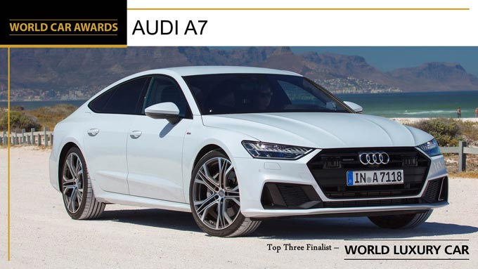2019 World Car Awards and now there is one… Audi A7 – 2019 World Luxury Car