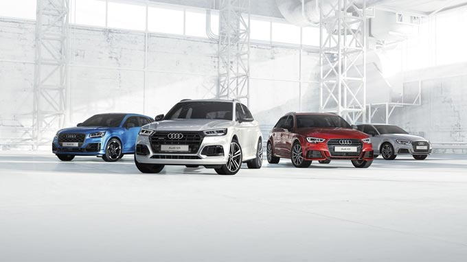 Product innovations added to the Audi South Africa model range