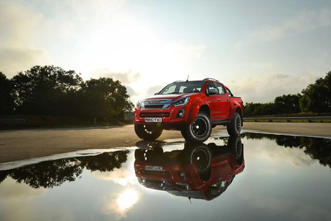 Iceland Comes to Africa with Limited Edition Isuzu D-MAX Arctic Truck
