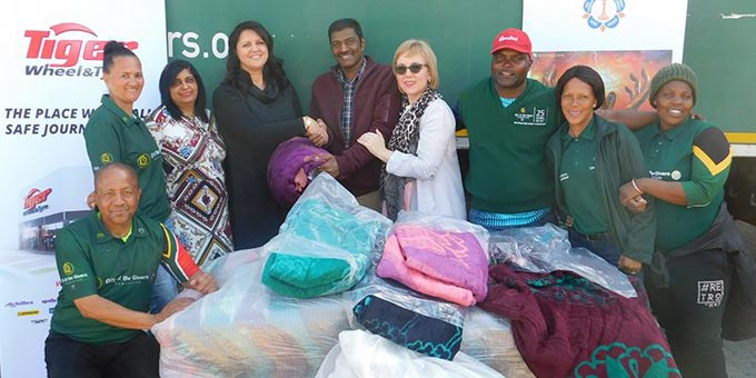 Tiger Wheel & Tyre Donates 15 000 Blankets to Charitable Causes