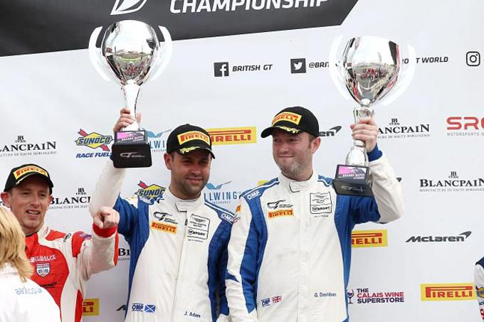 Aston Martin Vantage GT3 clinches first title at Brands Hatch