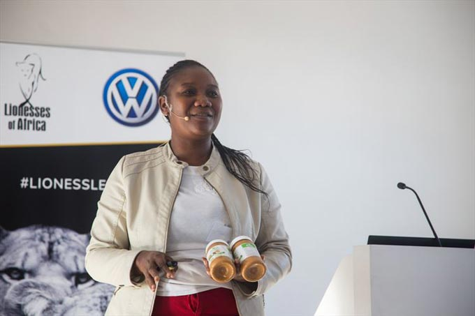 Debbie Ncube, owner and founder of Eden All Natural Peanut Butter