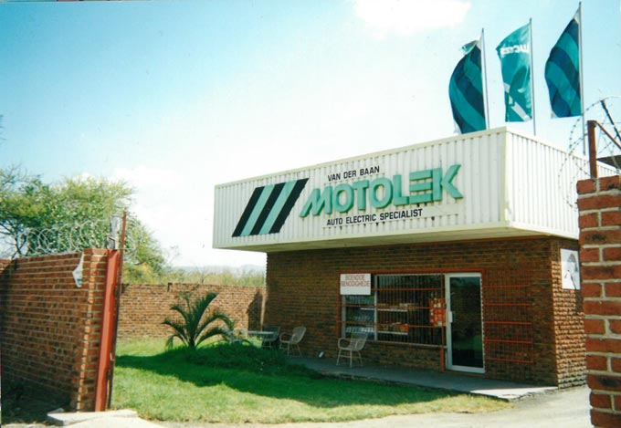 Motolek: Still providing the spark for South Africa's vehicles after 50 years.